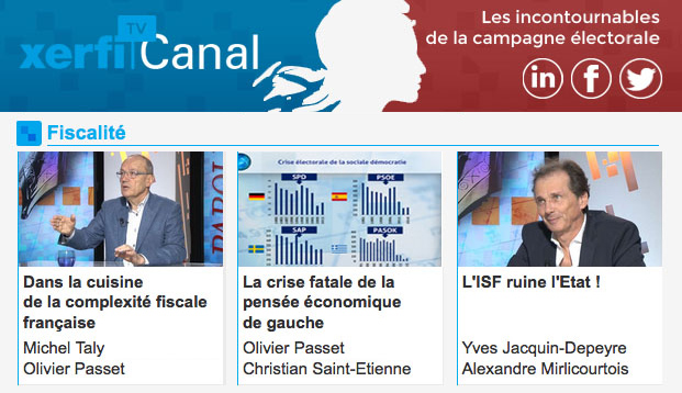 Xerfi TV Canal - Fiscalite - Yves Jacquin Depeyre - L'ISF ruine l'Etat
