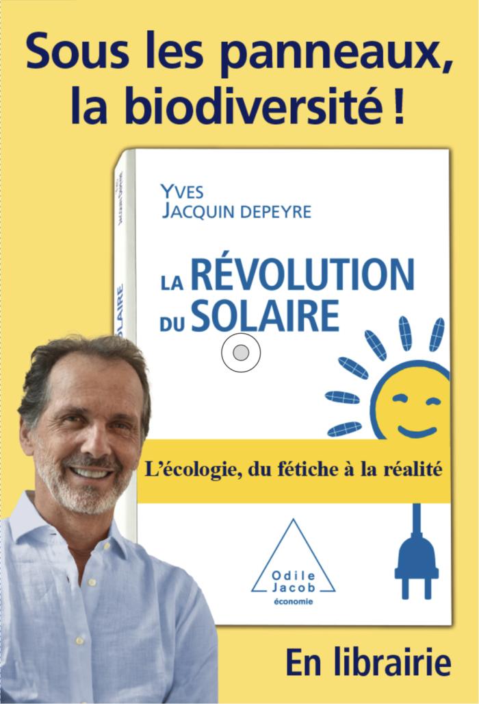 Decaux - Campagne - La revolution du solaire - Sous les panneaux, la biodiversité !