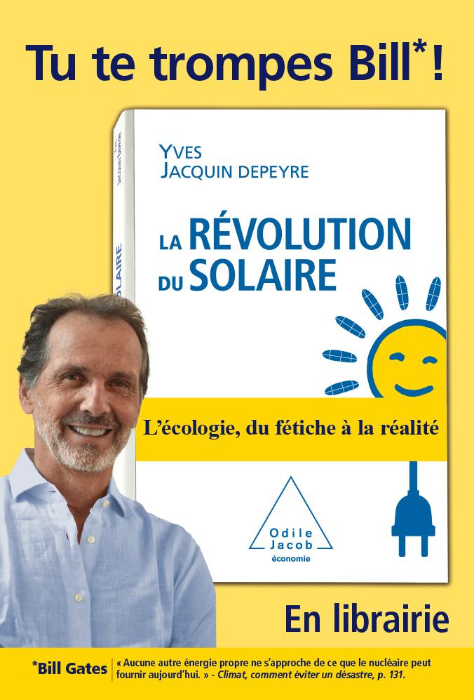 évolution du Solaire - Tu te trompes Bill (Gates)
